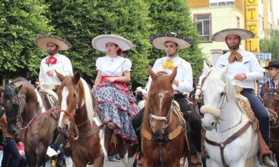 Desfile e inauguración Expoferia Arandas 2015