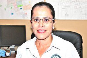 Beatriz González Angulo, encargada del OPD de agua potable en San Ignacio