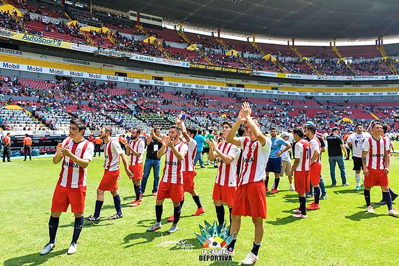Equipo de fútbol Arandas en la Copa Jalisco