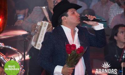 Julión Álvarez en el palenque de Feria Arandas 2020