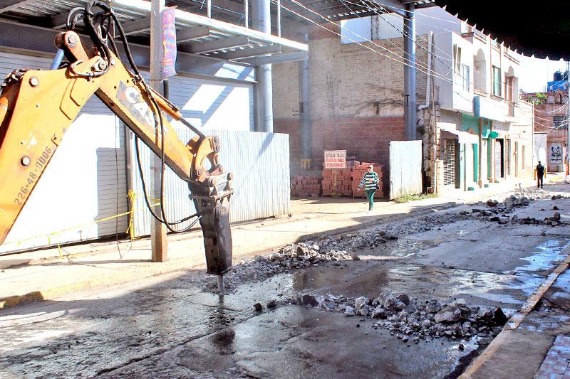 En febrero debe quedar terminada la obra de redes de agua potable en Arandas