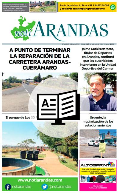 Edición impresa de NotiArandas