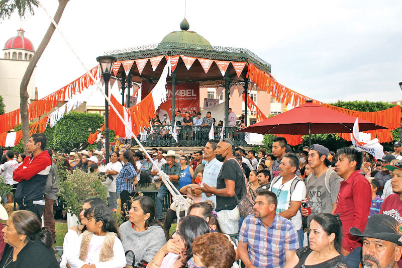 Multitudinario cierre de campaña de Movimiento Ciudadano