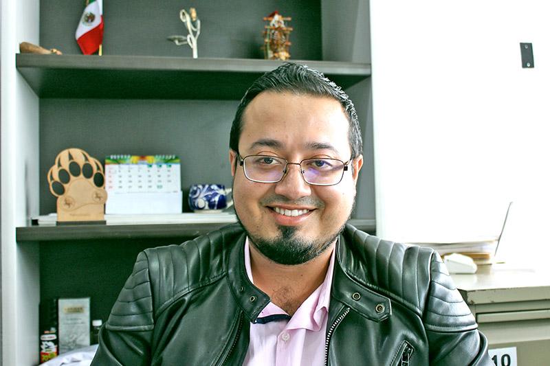 Ismael Limón Coronado, encargado de la oficina de Padrón y Licencias del municipio de Arandas