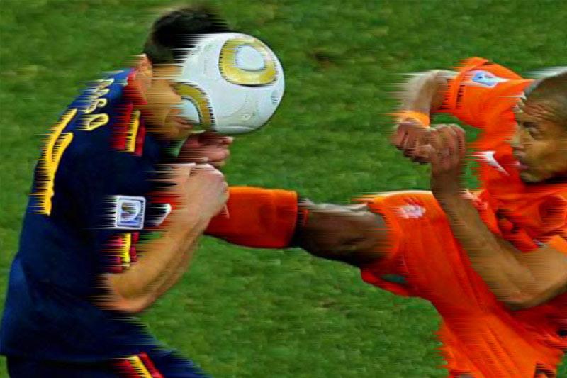 No a la violencia en el fútbol arandense